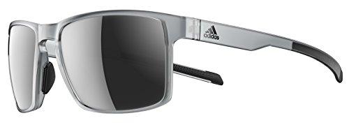 adidas Wayfinder Grey transparent/Chrome 2019 Fahrradbrille