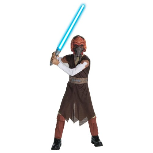 Plo Koon - Star Wars - Kinder-Kostüm - Medium - 132cm
