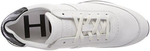 HUGO Damen Uptown Adrienne-c Sneaker Weiß (White 100)