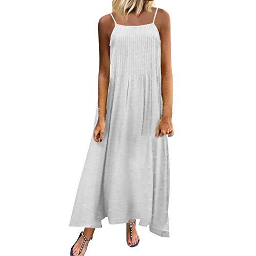 Vintage Böhmische Kleid Damen Sommer Festliche Jersey Schöne Elegante Abend Abschlussball Maxi Lang Sexy Partykleid Sommerkleid Maxikleid Strandkleider - 2x ärmel Lange