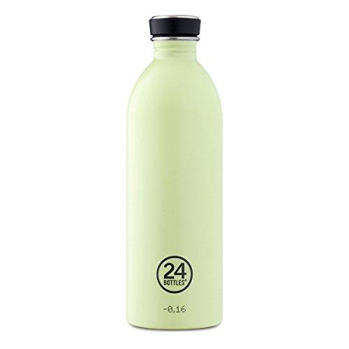 Trinkflasche 'Urban Bottle Pastel' aus Edelstahl 1 Liter, Farbe:Pistachio Green