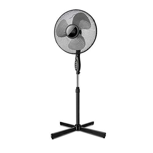 Black+Decker BXEFP41E Ventilatore a Piantana, 40 W, 240 V, Nero