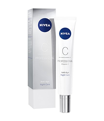 NIVEA PROFESSIONAL Vitamin C Nachtpflege, Creme Nachtcreme Anti-Aging Pflege, 1 x 50 ml