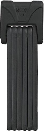 ABUS Faltschloss Bordo Lite 6050/85, Black, 85 cm, 51800