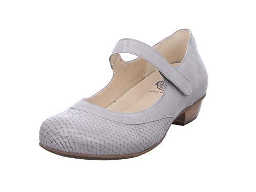Brako Bem 6480 Ash Damen Ballerina & Spangenschuhe in Mittel Gr.: 39 grau