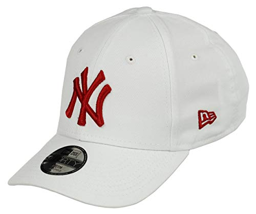 New Era New York Yankees 9forty Adjustable Kids Cap League Essential White/Red - Youth New York Yankees-kinder-fan