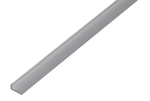 GAH-Alberts 475154 Kantenschutzprofil - Aluminium, silberfarbig eloxiert, 1000 x 19 x 8 mm