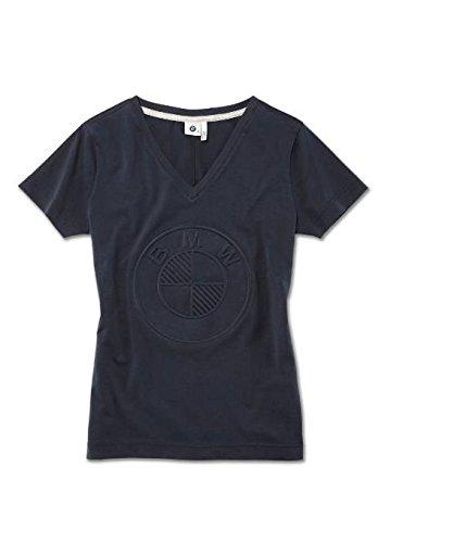 BMW Original T-Shirt Damen blau mit Logo Kollektion 2018/2020 - Größe XS