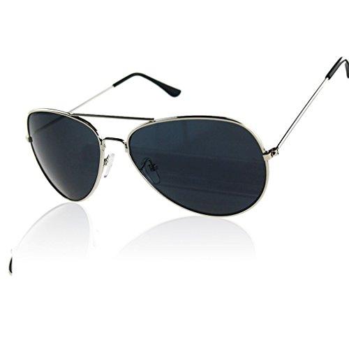 Provide The Best Frauen Männer Outdoor-Sonnenbrillen Metallrahmen UV400 reflektierende Linse Brillen
