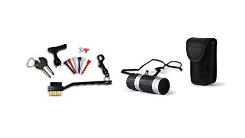 Unbekannt CEBEGO Komplettset Golf Zubehör,Golf Accessoires Kit incl. Entfernungsmesser,Scorepaket Golfgeschenke für das Golfbag