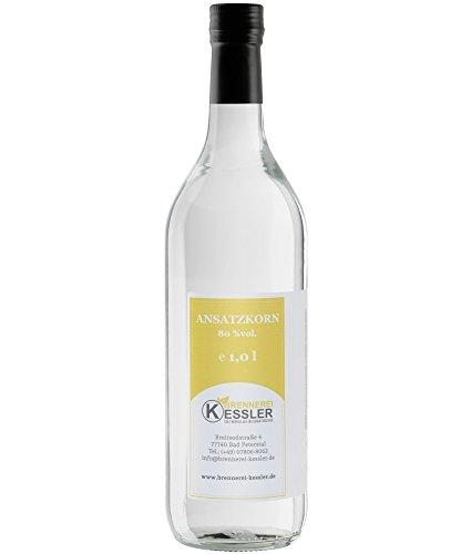 Ansatzkorn 80,0% - 1000ml - Brennerei Kessler