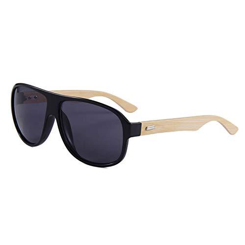 YUHANGH Schutzbrillen Männer Sonnenbrillen Verhindern Brille Bambusbein Brille Frauen Shades