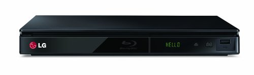 LG BP230 Blu-ray-Player mit Smart TV Light (DLNA, iPhone/Smartphone-Fernbedinung) schwarz
