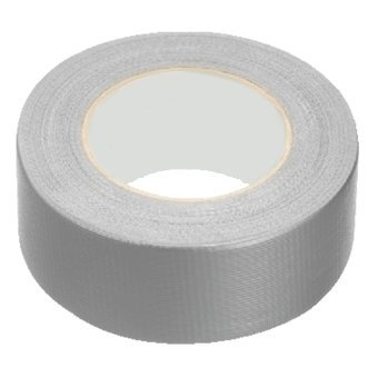 Stagetape 50mm x 50m silber