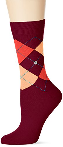 Burlington Damen Socken Queen, Mehrfarbig (Sumac 8701), 36/41