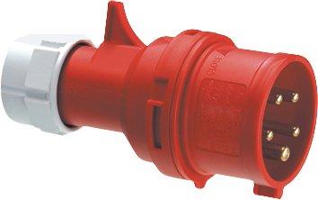 Preisvergleich Produktbild CEE-Stecker CEE-STECKER 32A PHASENWENDER 12542