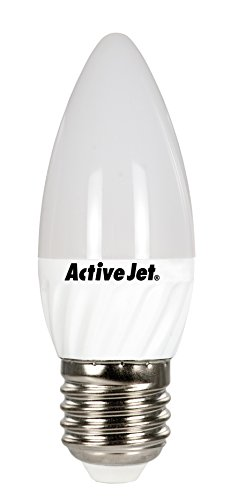 Activejet Led, Smd Aje-Ds3027C-W De La Vela, E27, 4-30 W, 320Lm, Cálido Oswacjzle0197 Blanco