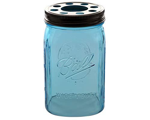 offener Boden Mason Jar Glas Schatten mit 1-5/8Zoll Fitter Öffnung Beleuchtung Deckel Mason Quart Jar