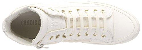 Candice Cooper Damen allume Hohe Sneaker Weiß (panna)