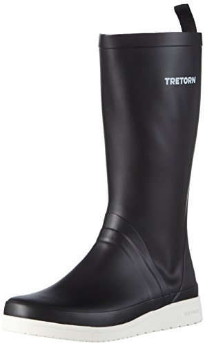 Tretorn Damen Viken II Gummistiefel, Schwarz (Black 010), 39 EU - Schuhe Tretorn