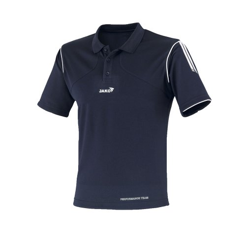 Jako Polo Hemd Performance blau