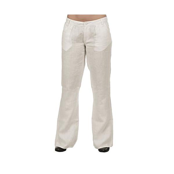 Kuyichi Damen Leinen Hose Leinenpant Edie Pant Fair Trade, organic linen