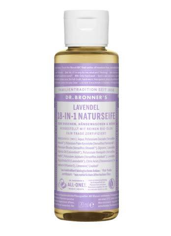 18 In 1 Hanf (Dr.Bronner's 18-IN-1 Naturseife Lavendel, 120 ml)