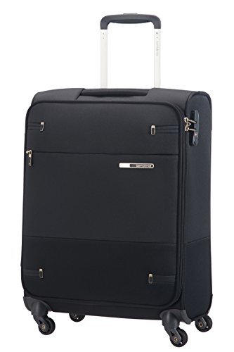 Samsonite Base Boost Spinner Hand Luggage, 55 cm, 39 L, Schwarz