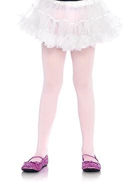 Leg Avenue Mädchen Strumpfhose rosa blickdicht Größe XL ca. 146 bis 158