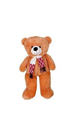 ZOONIO Brown Color muffar Soft Teddy Bear 80 cm