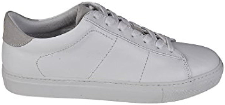 Dondup Herren XS058Y357UXXXDU000 Weiss Leder Sneakers