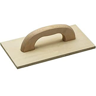 Meister Fratás mehrschichtholz ✓ 420x 220mm ✓ abachi Madera | Fratás de madera para albañilería y baldosas. | kartätsche | Putz Tabla | glätts Diana | 4152600