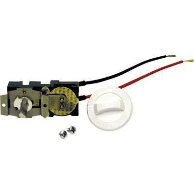 Cadet Single Pole Field Mount Thermostat Kit - 17 Amp, White, Model# CTT1W by Cadet - Mount Thermostat Kit