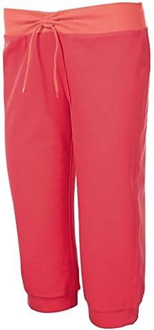 CRIVIT® Damen Capri-Wellnesshose (Koralle / Apricot, Gr. M -