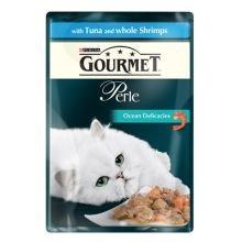 Gourmet Perle Pochette thon et crevettes (24 PACK) 85g