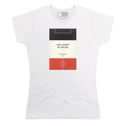 Terrace Chants - Inspired by Swansea City FC T-Shirt, Damen, Wei, XL (City Fc Swansea)