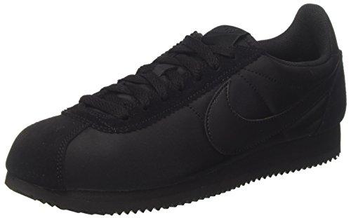 Nike Herren Classic Cortez Nylon Sneaker, Schwarz (Black/Black-Anthracite), 44 EU