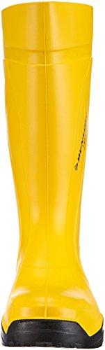 Dunlop C762241 S5 PUROFORT+ Adulto Unisex Stivali di sicurezza Giallo (Gelb)