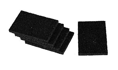 Gummigranulat Terrassen Pads Gummis 8 Mm Stark Für WPC Holz Terrassen  Stelzlager Dielen Bau Fundamen