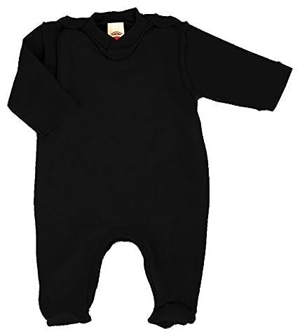 MAKOMA Baby Mädchen und Jungen Strampler-Set mit Fuß und Langarmshirt