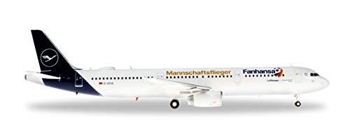 Herpa 559416 Lufthansa Airbus A321 Fanhansa - Avión para coleccionar