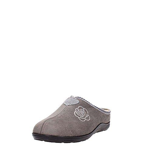 Grunland 98CELY CI1234 Pantoufle Femme Gris