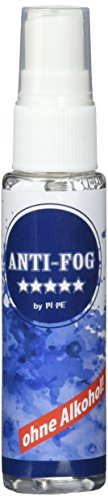PI-PE Antibeschlag Spray zum Tauchen und Schnorcheln - Premium Antifog für Schwimmbrillen und Tauchermasken - verhindert das Beschlagen sämtlicher Scheiben, Transparent, 30 ml