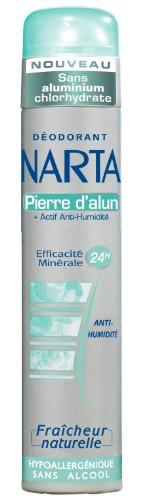 Narta Déodorant Atomiseur Pierre d'Alun 200 ml