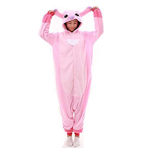 Pyjamas Tieroutfit Erwachsene Unisex Overall Halloween Kostüm Schlafanzug Tier Onesies Kapuze
