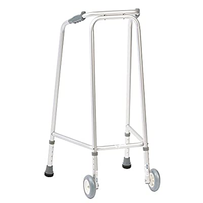 NRS Ultra Narrow Walking Frame (Wheeled) Adjustable Height