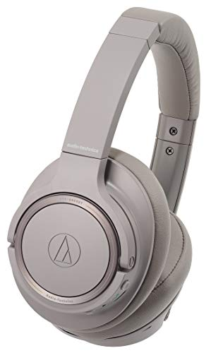 Audio-Technica ATH-SR50BT Kabelloser Over-Ear Kopfhörer, grau - 3