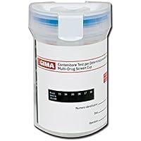 Gima 24576Cup Test droghe, 7parametri y adulteranti, Paquete de 25