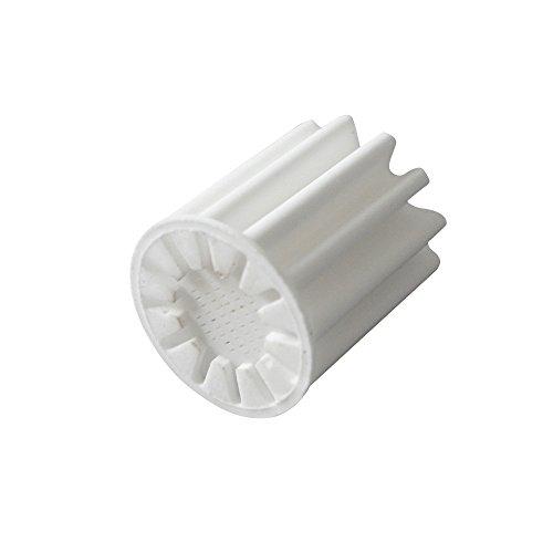 atoplee 2Pcs Ersatz Filter Element Badezimmer Inline-Dusche Kopf Wasserenthärter - Filter Combo Pack