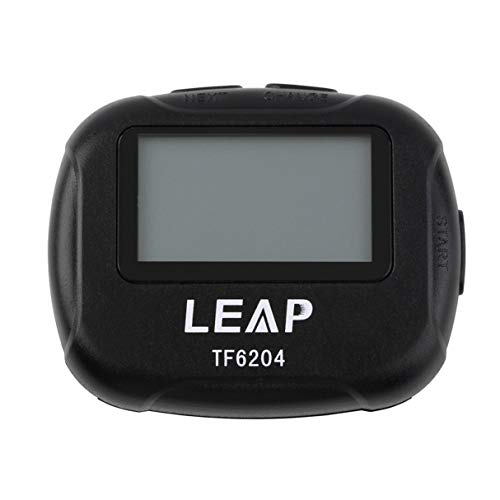 Wafalano Intervall-Timer, Sport Crossfit Boxen Yoga Segment Stoppuhr, TF6204 Black Interval Timer Chronograph Eletronic